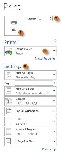 Sau khi thiết lập xong ấn nút Print.