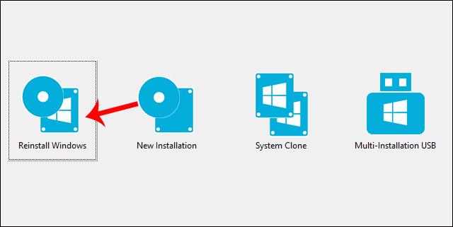 Cài đặt mới Windows