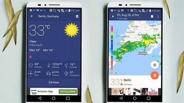 Ứng dụng NOAA Weather Radar and Alerts