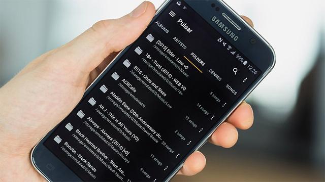 ứng dụng nghe nhạc miễn phí cho Android Ứng dụng Pulsar Music Player