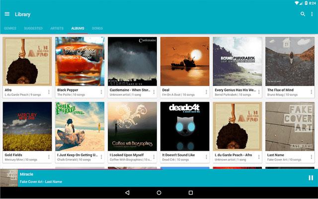 ứng dụng nghe nhạc miễn phí cho Android Ứng dụng Shuttle Music Player
