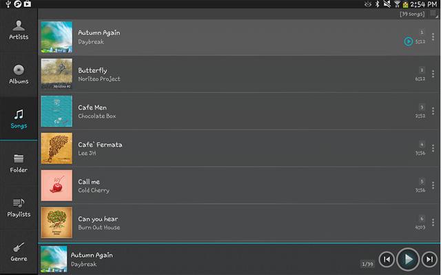 ứng dụng nghe nhạc miễn phí cho Android Ứng dụng jetAudio Music Player
