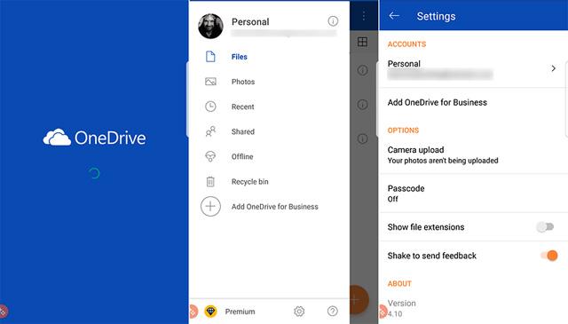 Ứng dụng OneDrive
