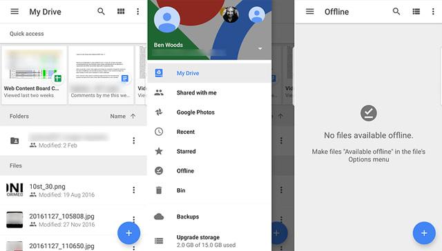 Ứng dụng Google Drive