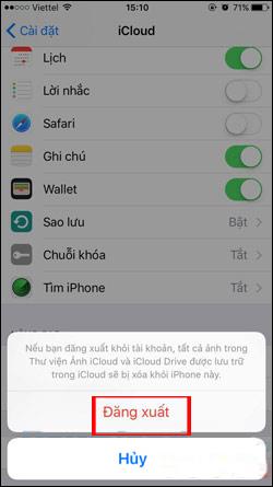 Xóa hình ảnh khỏi iPhone