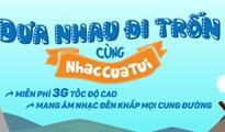 Cách đăng ký dịch vụ NhacCuaTui 3G