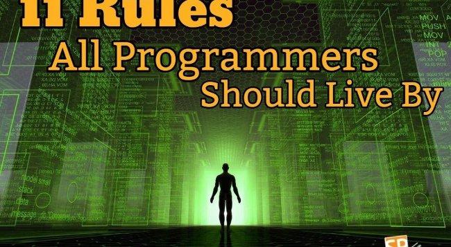 11 nguyên tắc cơ bản mà mọi lập trình viên đều nên tuân theo