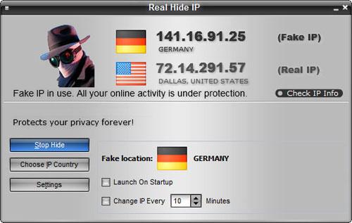 Real Hide IP truy cập website bị chặn