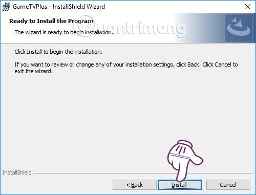 Nhấn chọn Install