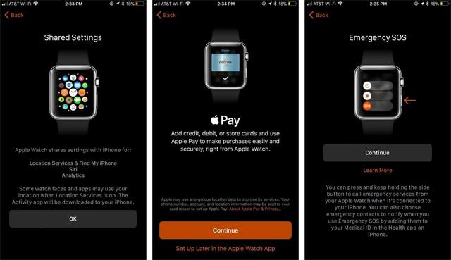 Thiết lập Apple Pay