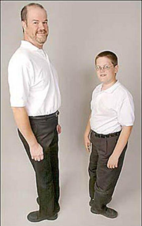 Lanham và Trey, cậu con trai 6 tuổi của mình