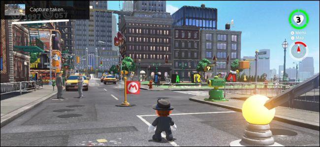 Chụp màn hình trò chơi trong Nintendo Switch
