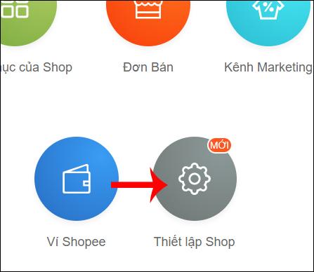 Thiết lập kênh bán hàng Shopee