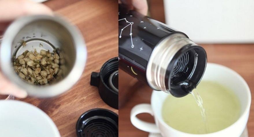 Vài lần đổ cà phê như vậy là đủ tiền mua một chiếc bình giữ nhiệt nóng lạnh rồi.