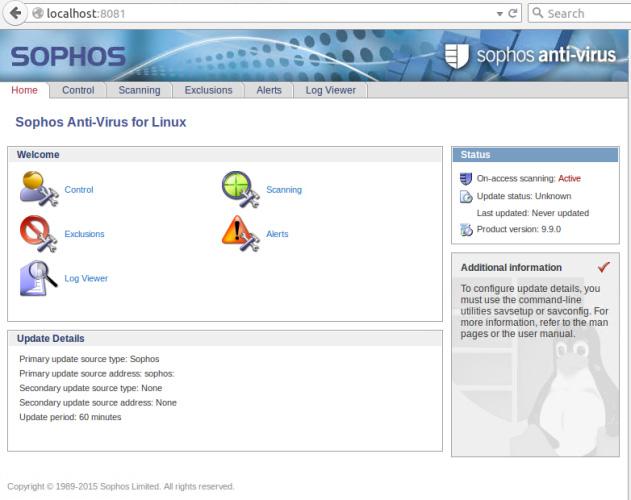 Phần mềm diệt virus Sophos