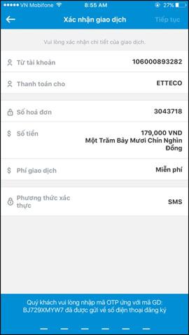 Cách thanh toán QR Pay trên Vietinbank iPay