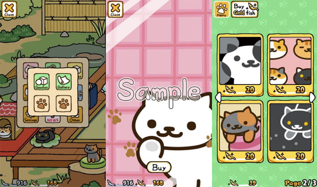 Cách chơi game Neko Atsume: Kitty Collector để thu thập hết các loại mèo