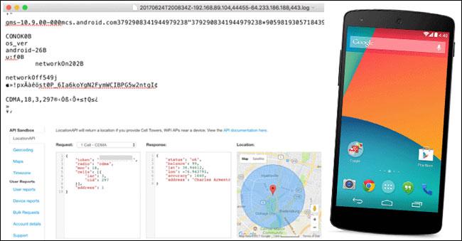 Google thu thập dữ liệu vị trí của Android ngay cả khi đã tắt dịch vụ định vị
