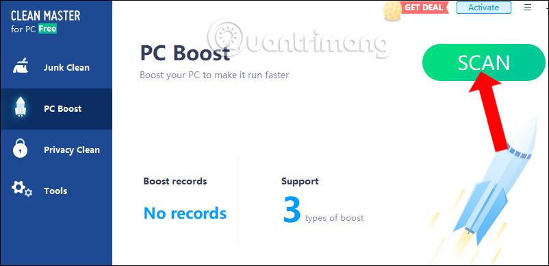 Cách dùng Clean Master dọn dẹp, tăng tốc Windows - Quantrimang com