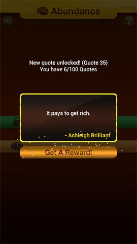 Phần thưởng trên Abundance