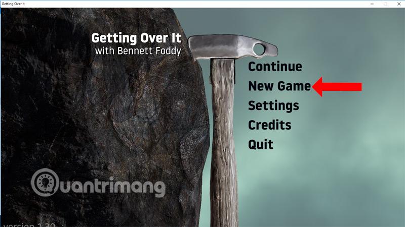 Nhấn chọn New Game