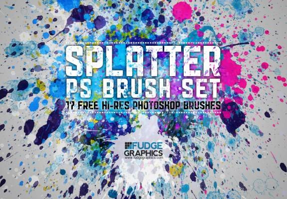 Bộ brush Splatter