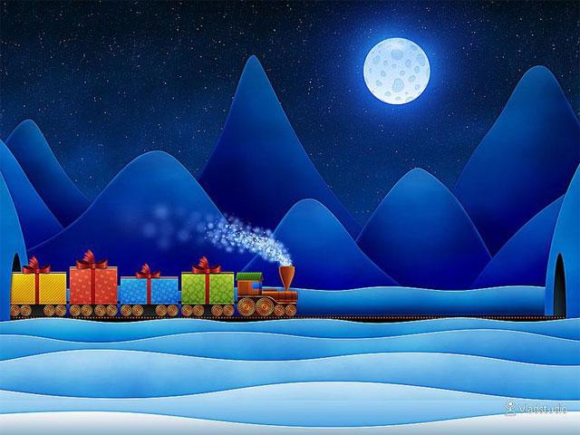 Hình nền đèn Giáng sinh của Vlad Studio