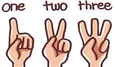 Có bao giờ bạn băn khoăn tự hỏi tại sao chúng ta lại đếm tới 3 hay chưa?