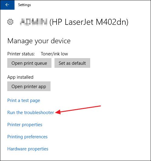 Sử dụng công cụ sửa lỗi Windows