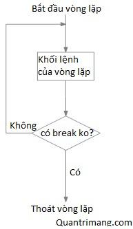 Sơ đồ vòng lặp Python với điều kiện ở cuối