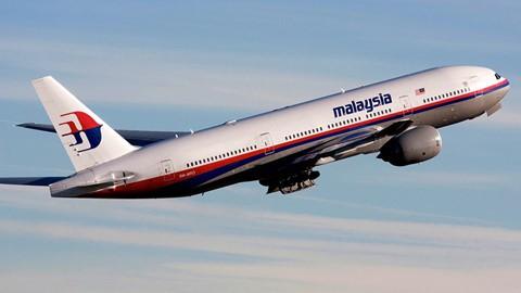 Chiếc MH370 của Malaysia Airlines mất tích vào năm 2014