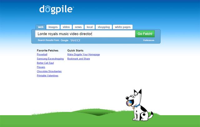 Công cụ tìm kiếm Dogpile