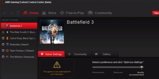 Danh sách trò chơi trên AMD Gaming Evolved