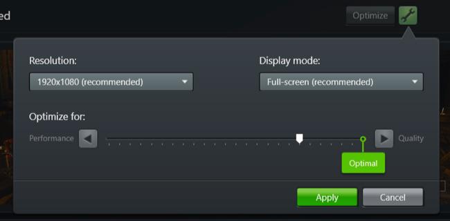 Thay đổi một số cài đặt trên phần mềm NVIDIA GeForce Experience