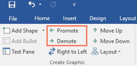 Promote (Tăng cấp) và Demote (Giảm cấp)