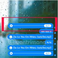Cách gửi nhạc, bài hát MP3 qua Messenger để nghe được luôn