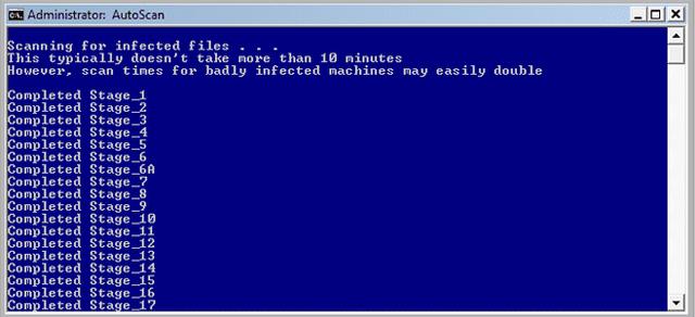 Phần mềm chống spyware ComboFix