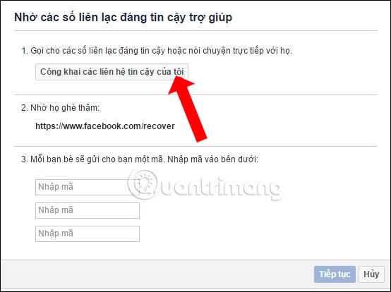 Địa chỉ Facebook tin cậy