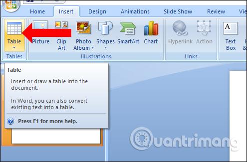 MS PowerPoint 2007 - Bài 8: Chèn bảng trong PowerPoint