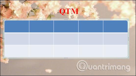 MS PowerPoint 2007 - Bài 8: Chèn bảng trong PowerPoint - Ảnh minh hoạ 4