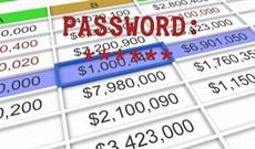 Đặt pass cho file Excel, cách khóa file Excel bằng mật khẩu