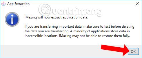 Allows data backup