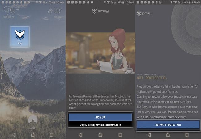 Tìm smartphone, laptop bị mất chính xác, hiệu quả với ứng dụng Prey.