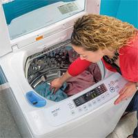 Mẹo giúp giặt quần áo không bị nhăn khi giặt bằng máy giặt