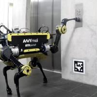 Chiêm ngưỡng Robot Anymal có thể sử dụng thang máy như người