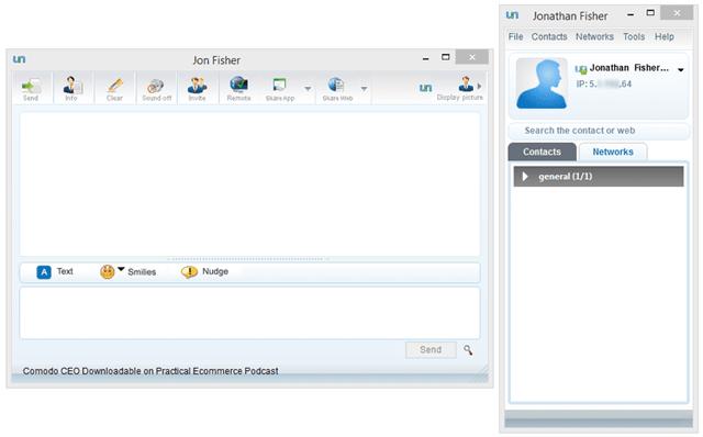 Phần mềm Comodo Unite
