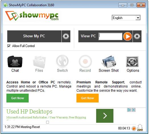 Phần mềm ShowMyPC