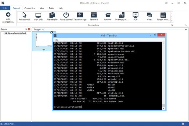 Phần mềm Remote Utilities