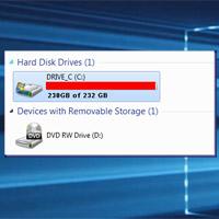 Cách giải phóng bộ nhớ máy tính Windows 7, 8/8.1 và Windows 10