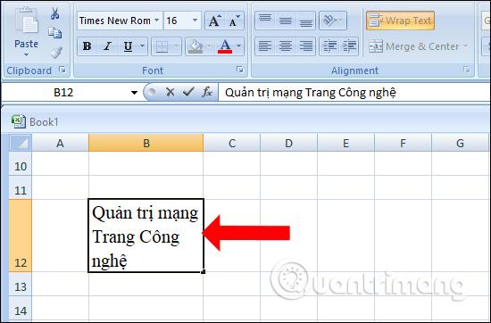 Các cách xuống dòng trong Excel dễ nhất - Ảnh minh hoạ 4